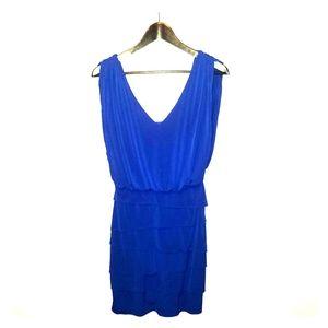 Cache cobalt blue sz 4 dress